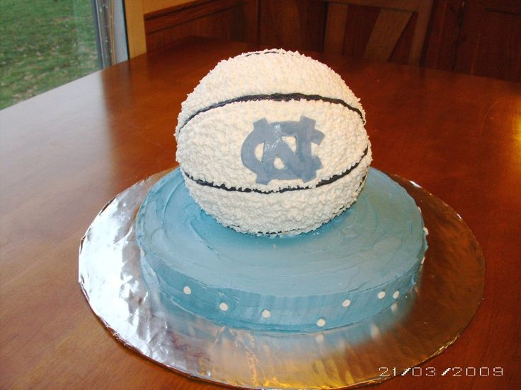 Unc Basketball Cake - CakeCentral.com