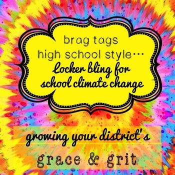 Want to use a CBT inspired intervention to address the core belief amongst students that their achievements are not noticed and therefor must not be of value?It seems like everyone's talking about brag tags. But in the high school (and, let's be honest, even the middle school), the concept of brag tags can feel juvenile and canned unless we go about it whimsically.