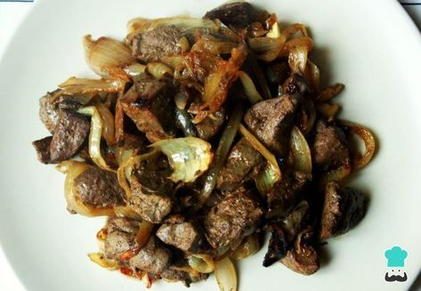 Aprende a preparar hígado de res encebollado - Un plato fácil, económico y delicioso con esta rica y fácil receta. El hígado de res es uno de los productos más...