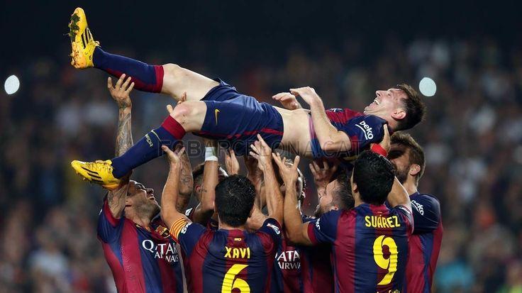 Best goals celebrations of the season | FC Barcelona