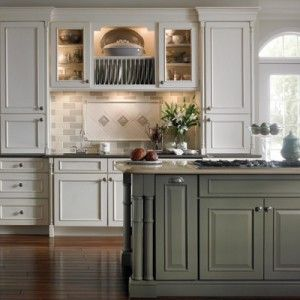 Furniture: Dish Cabinet Above Sink In Traditional Kitchen Design ...