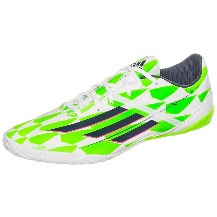 The newest installment to the adidas F10 indoor soccer shoe is a very stunning shoe no matter how you look at it. Well, unless you are looking at in pitch black darkness. Even then, the comfort of the