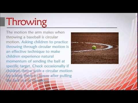 Basic Baseball Skills Children Need To Learn #baseballskillstraining