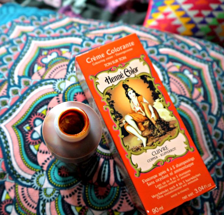HAIR: HENNE COLOR - LIQUID HENNA COLOURANT IN 'COPPER' | Good Golly Miss Hollie | UK Beauty Fashion Lifestyle Blog