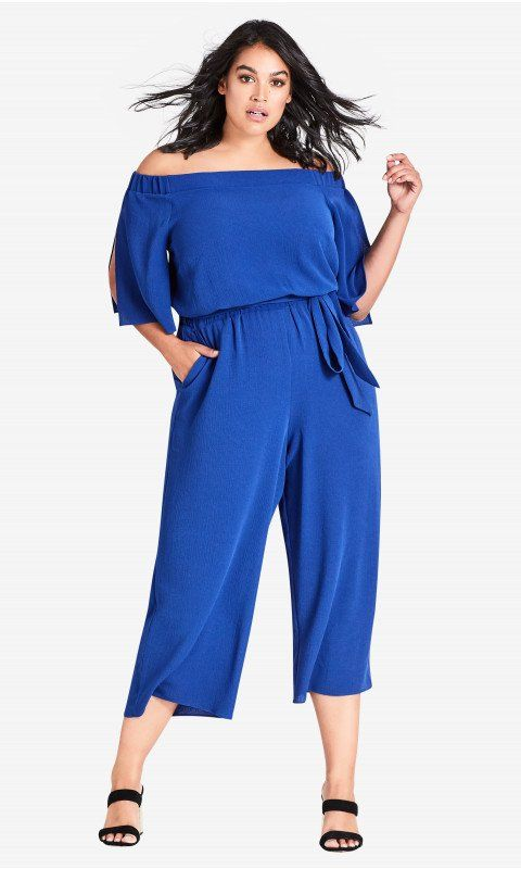 8e8074afd004 Shop Women s Plus Size Off Shoulder Jumpsuit