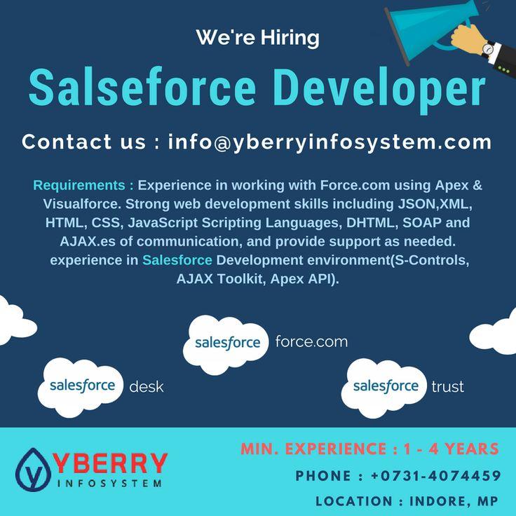 Yberry Infosystem We're hiring Salesforce Developer