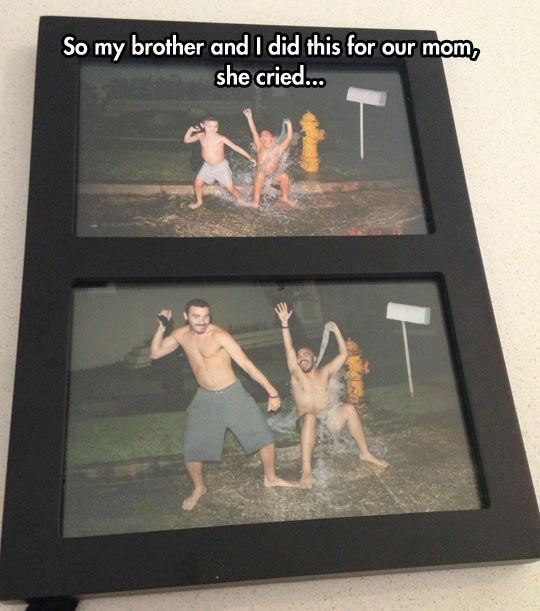 Recreating Good Memories. Great gifts idea for moms, dads, etc