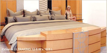 California King Size Bed Master Bedrooms