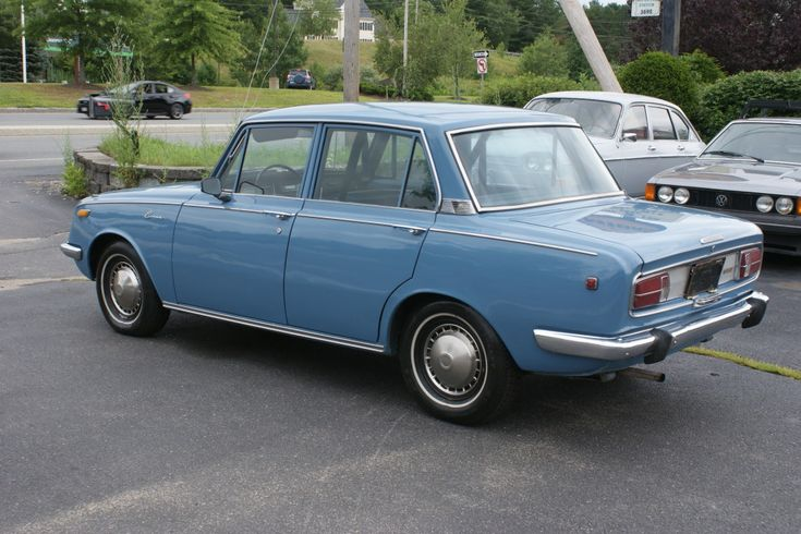 1968 Toyota Corona Deluxe 4-Speed