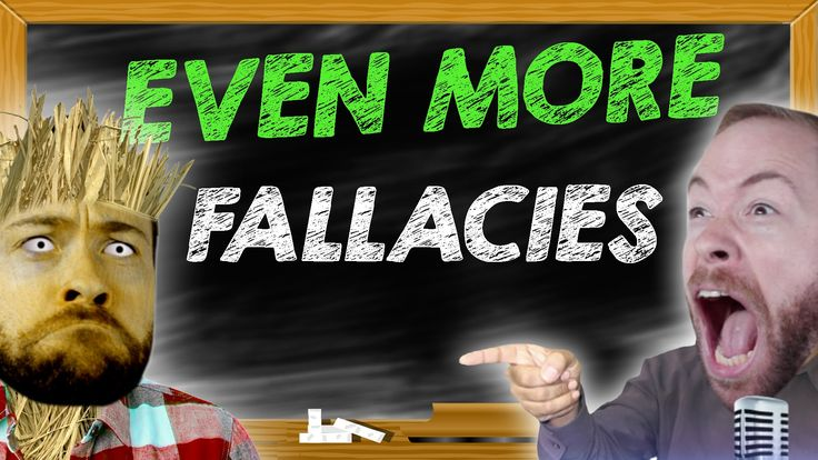 PBS Idea Channel host Mike Rugnetta explains three more fallacies to help people better argue on the Internet. Rugnetta previously explained five fallacies back in 2014. There's lots of... um... le...