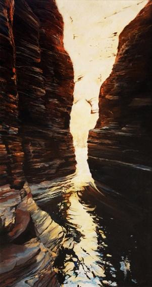 Hancock Gorge Pilbara North West Australia – Oil Painting