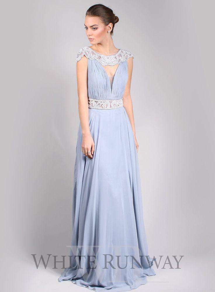 Karla Pearl Dress (In Chamapgne) - $385