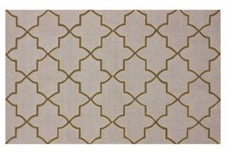 "Pin this rug as part of our ""Design your Dream Room"" Challenge! For more information visit https://www.onekingslane.com/brands/designisneverdonecontest/ #onekingslane #designisneverdone"