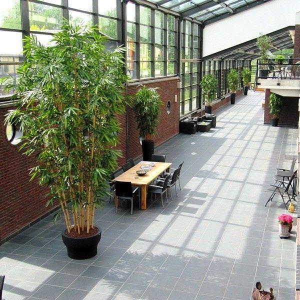 Les 25 meilleures id es de la cat gorie bambou artificiel for Deco fausse plante