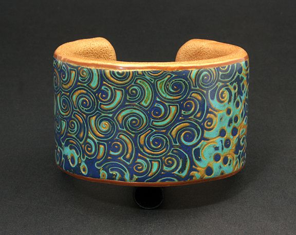 Mokume Gane Cuff by DorothySiemens, via Flickr