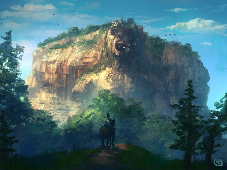 The Screaming Mountain by Rob-Joseph.deviantart.com on @DeviantArt