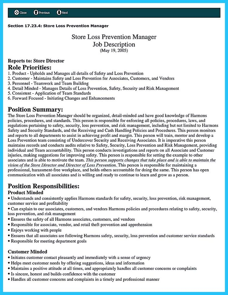 Pin on resume template Security resume, Resume examples