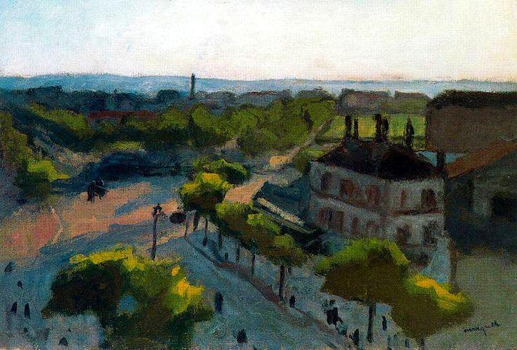 "Albert Marquet - ""Puerta de Saint Cloud"""