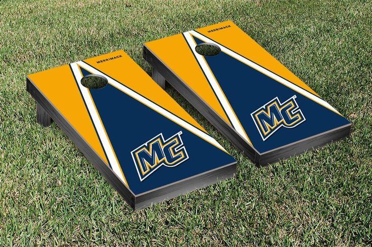 Pyramid of Power Merrimack College Warriors Corn Toss Game