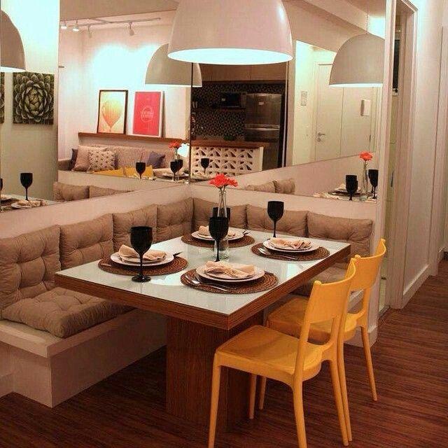 10 inspiração pra sua mini sala de jantar