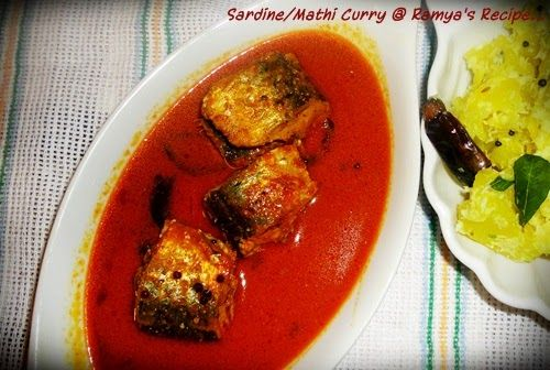മത്തി കറി    Sardines, known as Mathi/Chala in malayalam are rich in omega-3 fatty acids, which reduce the occurrence of cardiovascular di...