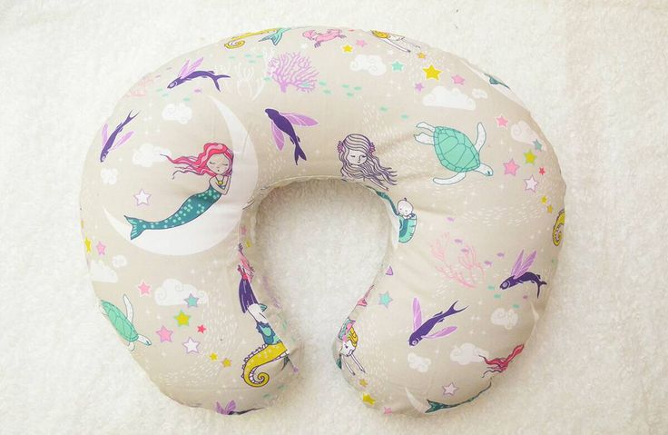 Boppy Cover | Purple Pink Mint Teal Mermaids Boppy | Baby Girl Boppy Slipcover | Nursing Pillow | Mermaid Nursery | Modern Boppy Cover by westandarrow on Etsy https://www.etsy.com/listing/289363705/boppy-cover-purple-pink-mint-teal