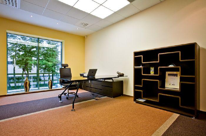 Gabinet  w firmie Floraland Distribution Sp z o.o. / Office at Floraland