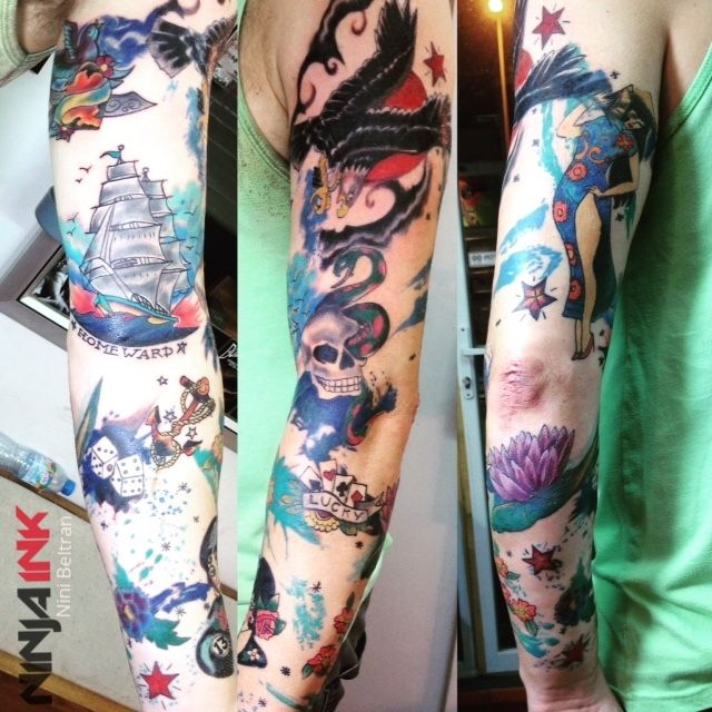 1000 images about sleeve tattoos on pinterest for Vietnam tattoo ideas