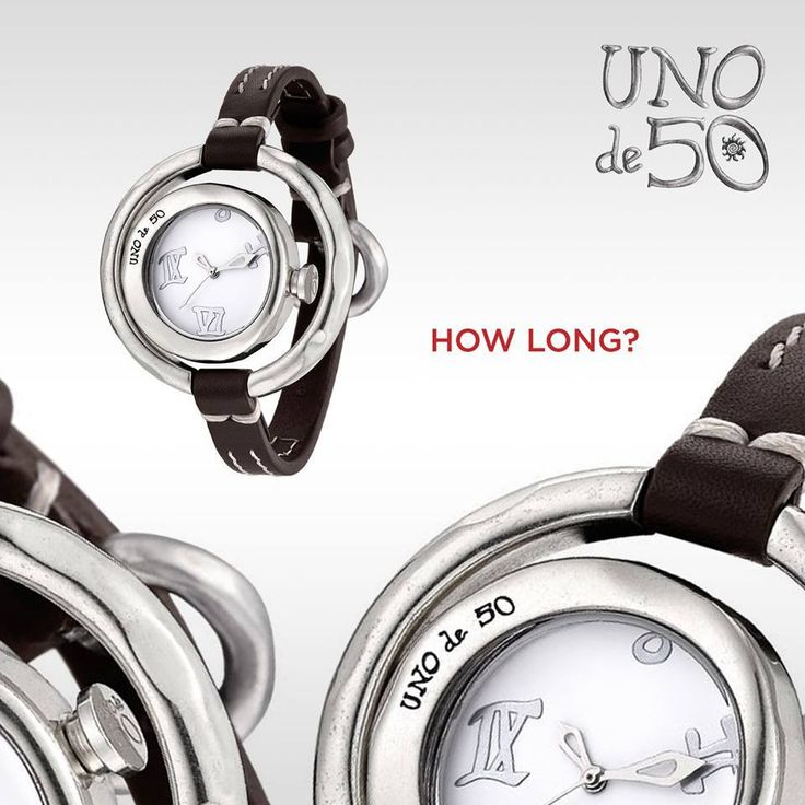 #UNOde50 #Watches #DoubleCheck #HOWLONG #New #Collection