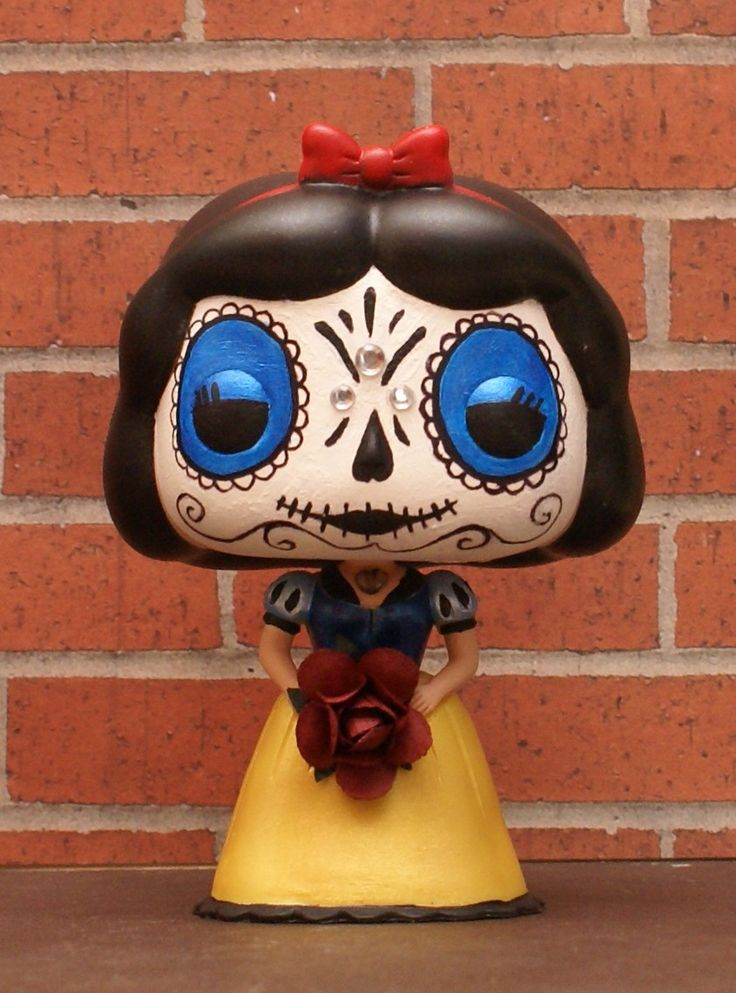 Custom Funko Pop Vinyl Disney Princess Snow White Day Of