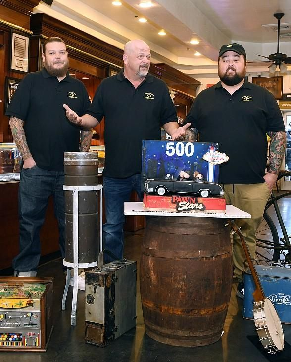 """History's """"Pawn Stars"""" Celebrates 500th Episode with Back-To-Back Episodes; Premieres Monday, January 22, 2018 at 10pm ET/PT on History Channel (Photo credit: Denise Truscello / WireImage)"""