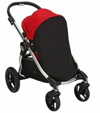 Baby Jogger City Select Bug/UV Canopy    The Baby Jogger City Select UV-Bug Canopy completely encloses the front and sides of the City Select seat to help protect seated children from the sun and bugs. Zips onto the front of the City Select's sun canopy and features a UPF 35+ rating.