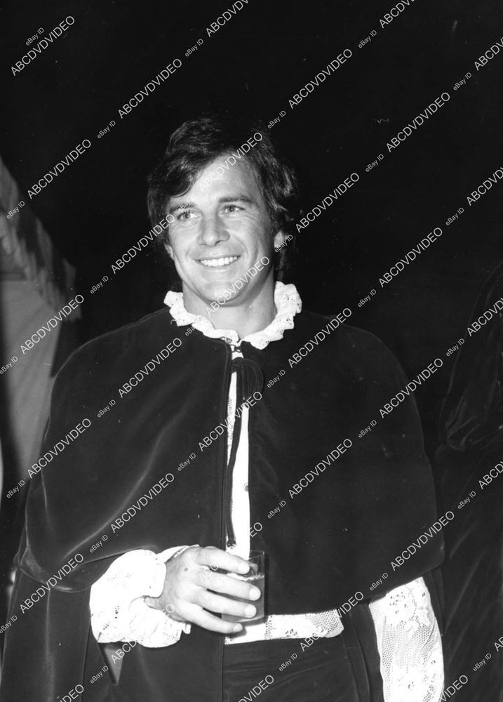 James Stacy w drink between takes 8b20-18487  | eBay