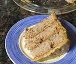 Kentucky Jam Cake (aka Blackberry Jam Cake ) - its a regional cake with lots of spices,  blackberry jam, walnuts, caramel icing, and sometimes a shot of bourbon.  A tip regarding this cake is to make it a few days in advance and let the flavors blend (if you can stand the wait), it gets better and better.