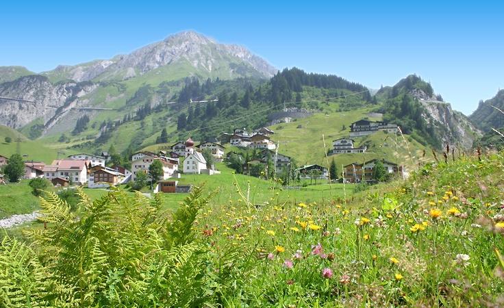 @ Arlberg Sommer in Stuben am Arlberg - Ferien Sommerurlaub / Wandern / Pilgern
