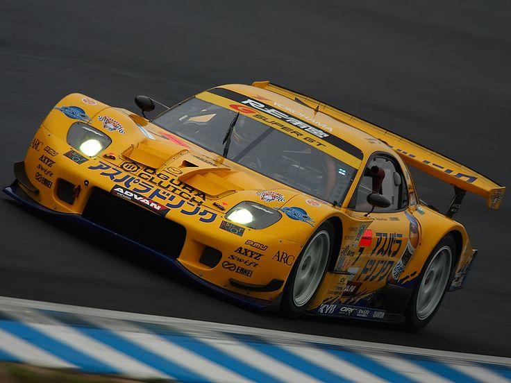 Mazda RX7 race car