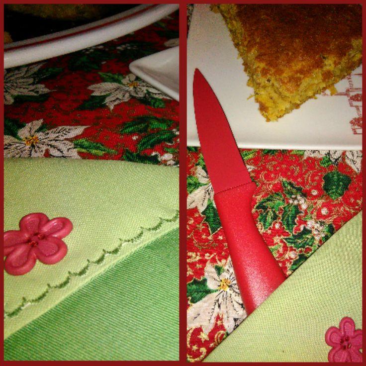 Este foi o segundo projeto de costura:        A receita deste bolo está no blog dos petiscos!        Foi um projeto mais complicado do que o...