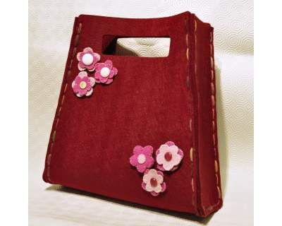 Come fare una borsa in lana cotta | Come Fare