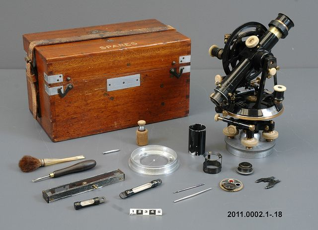 Theodolite, Scott Antarctic Expedition / Théodolite, Expédition en Antarctique de Scott
