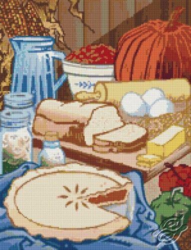 Ready to Bake - Cross Stitch PDF Pattern By The Art Of Stitch
