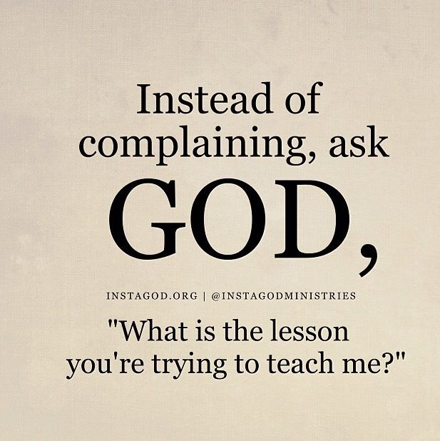 God quotes: learn lessons
