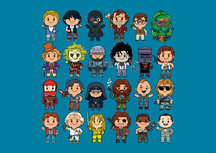 Little Cult Classics T-Shirt - Movie Mashup T-Shirt is $11 today at TeeFury!