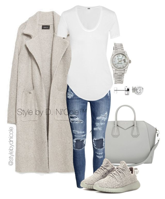 """Untitled #3052"" by stylebydnicole ❤ liked on Polyvore featuring moda, Zara, Givenchy, H&M, Helmut Lang, adidas Originals y Rolex"