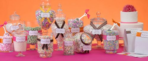 Candy Buffet Ideas | Candy Buffets – Towers of Sweet Treats for Any Celebration « Wilton ...