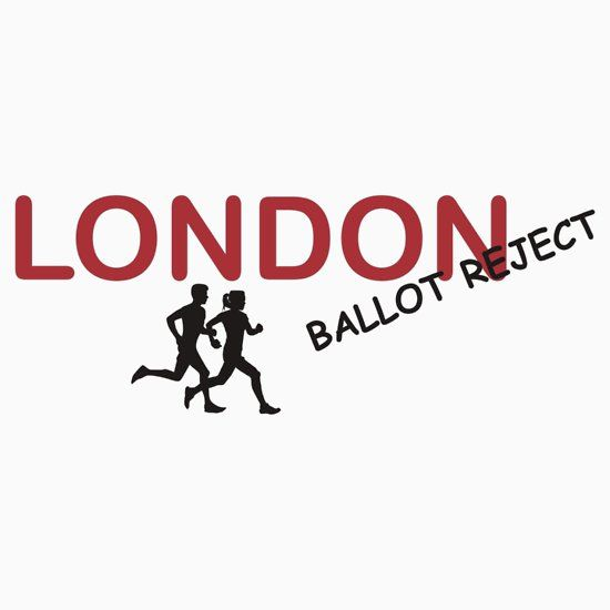London Marathon Ballot Reject