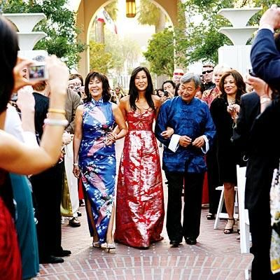 Lisa Ling and Paul Song, Chinese American wedding