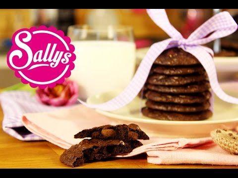 die besten und leckersten Schokoladen-Cookies / fertig in 30 Min. - schnell und einfach