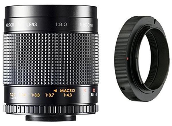 500mm f/8. 0-f/32. 0 manual focus telephoto lens for nikon d3000.