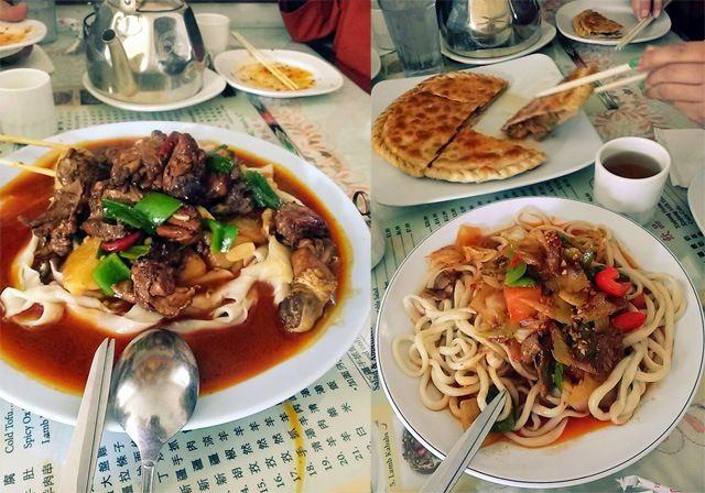 ウイグル料理(チャイニーズイスラム料理)- Omar's Xinjiang Halal Restaurant #UYGHUR #LOSANGELES