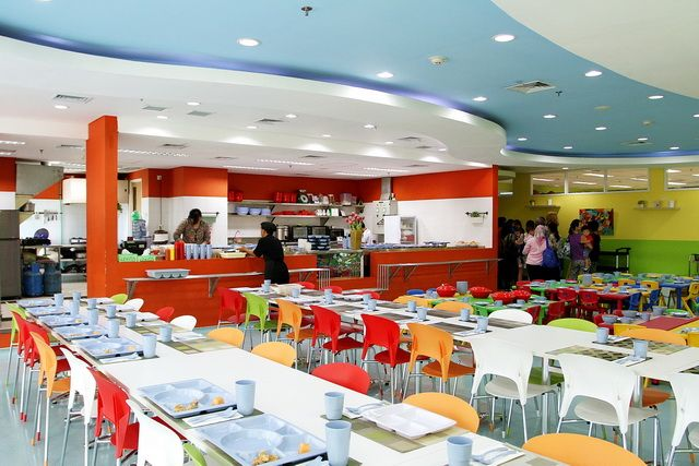 School Canteen - One of RTA Great Facilities